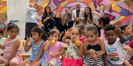 AMF ETIQUETAS comparte una tarde navideña con el Jardín Infantil Oreste Plath
